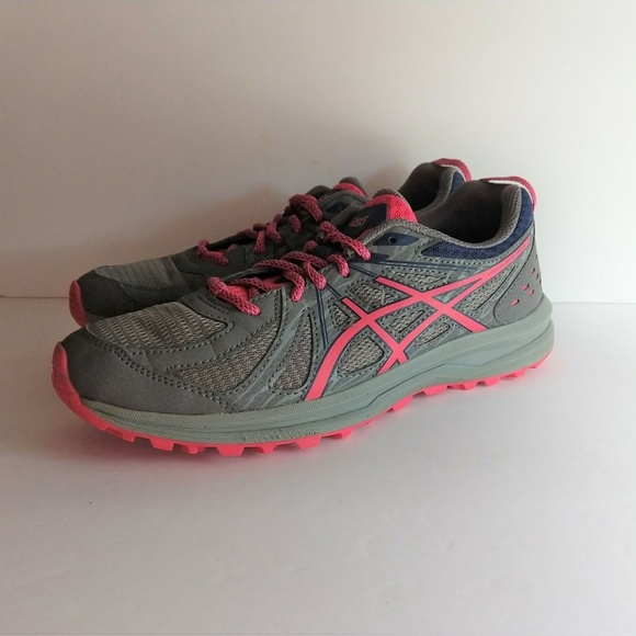 Asics Frequent Trail Running Sneakers CarbonPink